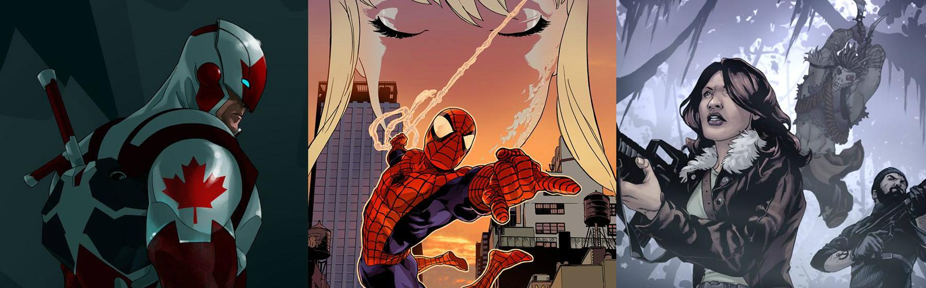 Kalman Andrasofszky Spider-Man  Captain Canuck