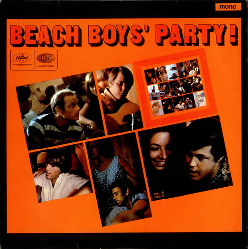 beach boys party cover art