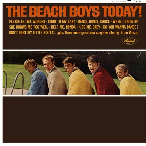 the beach boys today album cover