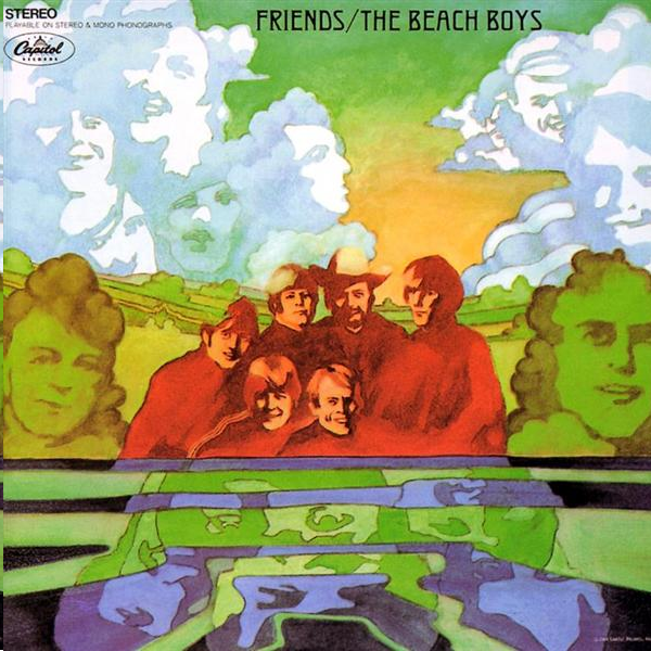 the beach boys friends album cover