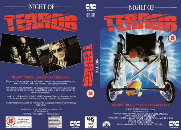 night of terror made for tv movie of the week 1972