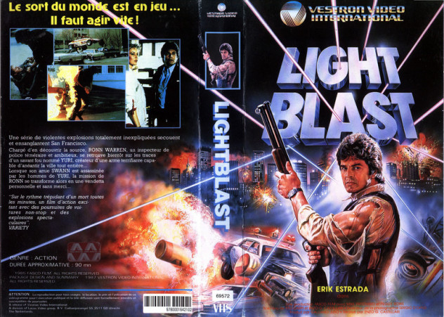 light blast erik estrada action film 1985