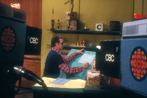 Photo: Ernie Coombs as Mr. Dressup