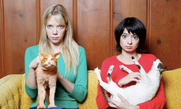 GARFUNKEL AND OATES: Riki Lindhome and Kate Micucci