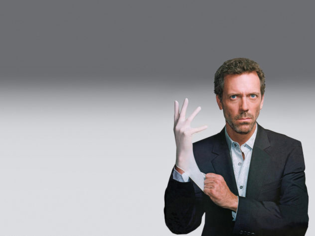 HOUSE: Hugh Laurie