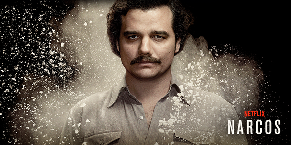 NARCOS: Wagner Moura, Boyd Holbrook, Pedro Pascal