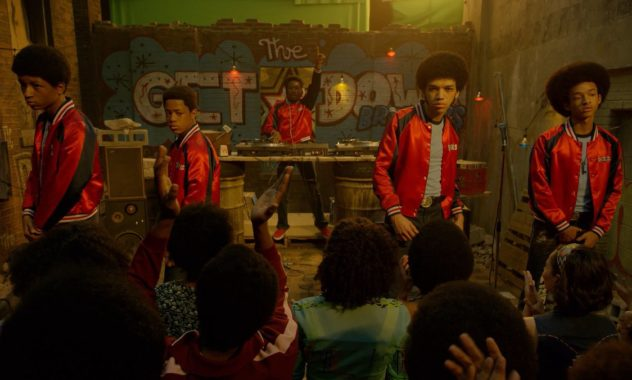 THE GET DOWN: Justice Smith, Shameik Moore, Jaden Smith, Herizen F. Guardiola, Skylan Brooks, Tremaine Brown Jr., Yahya Abdul-Mateen II, Jimmy Smits