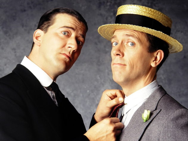 JEEVES AND WOOSTER: Stephen Fry and Hugh Laurie