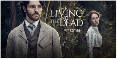 THE LIVING AND THE DEAD: Colin Morgan, Charlotte Spencer