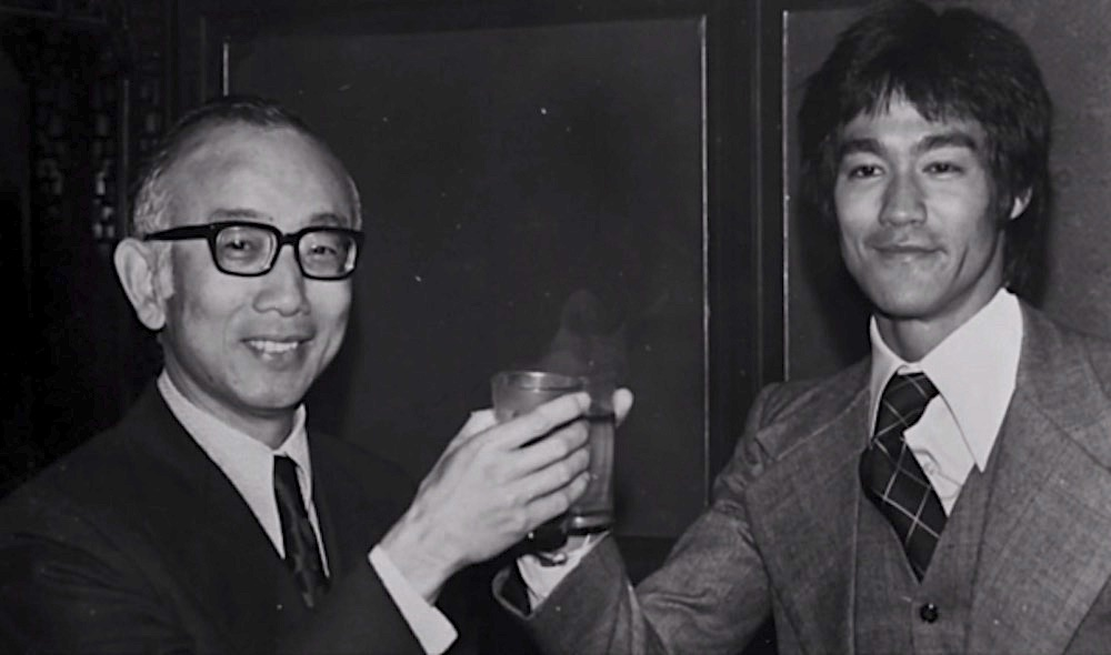 Raymond Chow and Bruce Lee